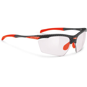 Rudy Project Agon Glasses Carbonium/ImpactX Photochromic 2 Laser Red